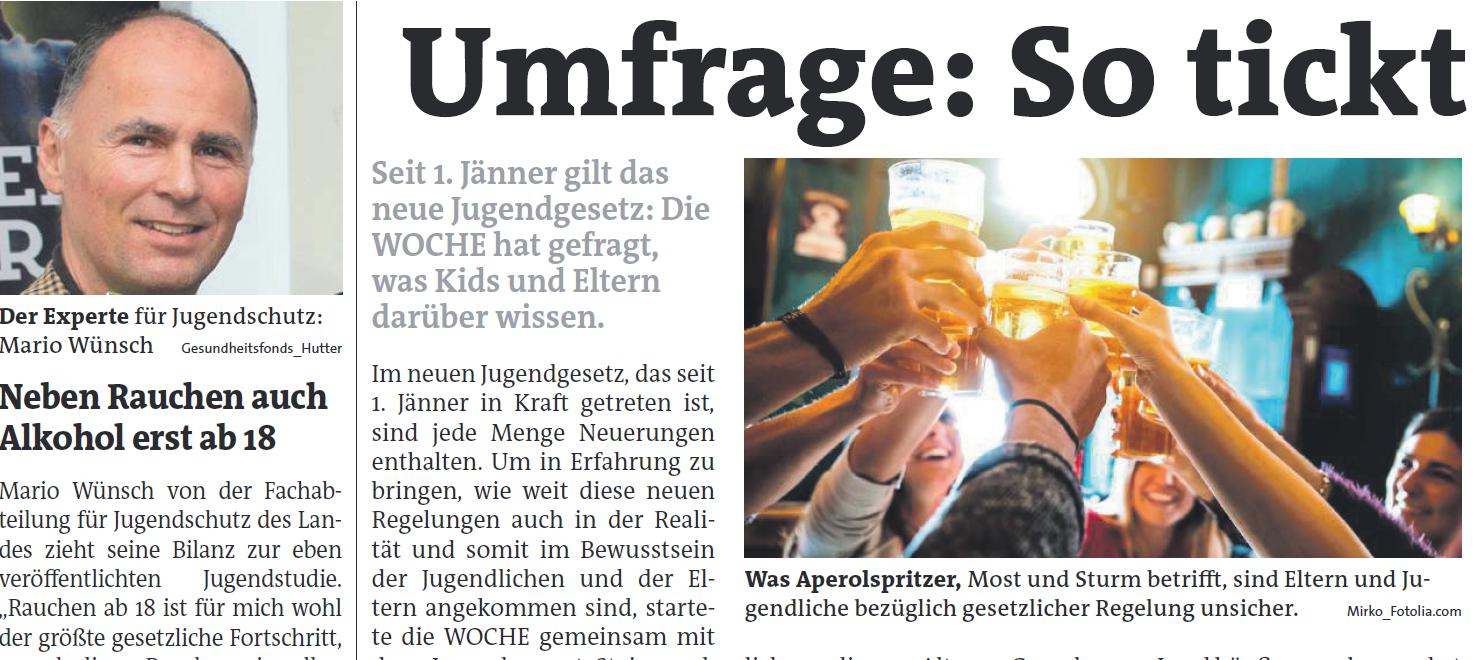 Jugendschutz Umfrage Steiermark m(Research